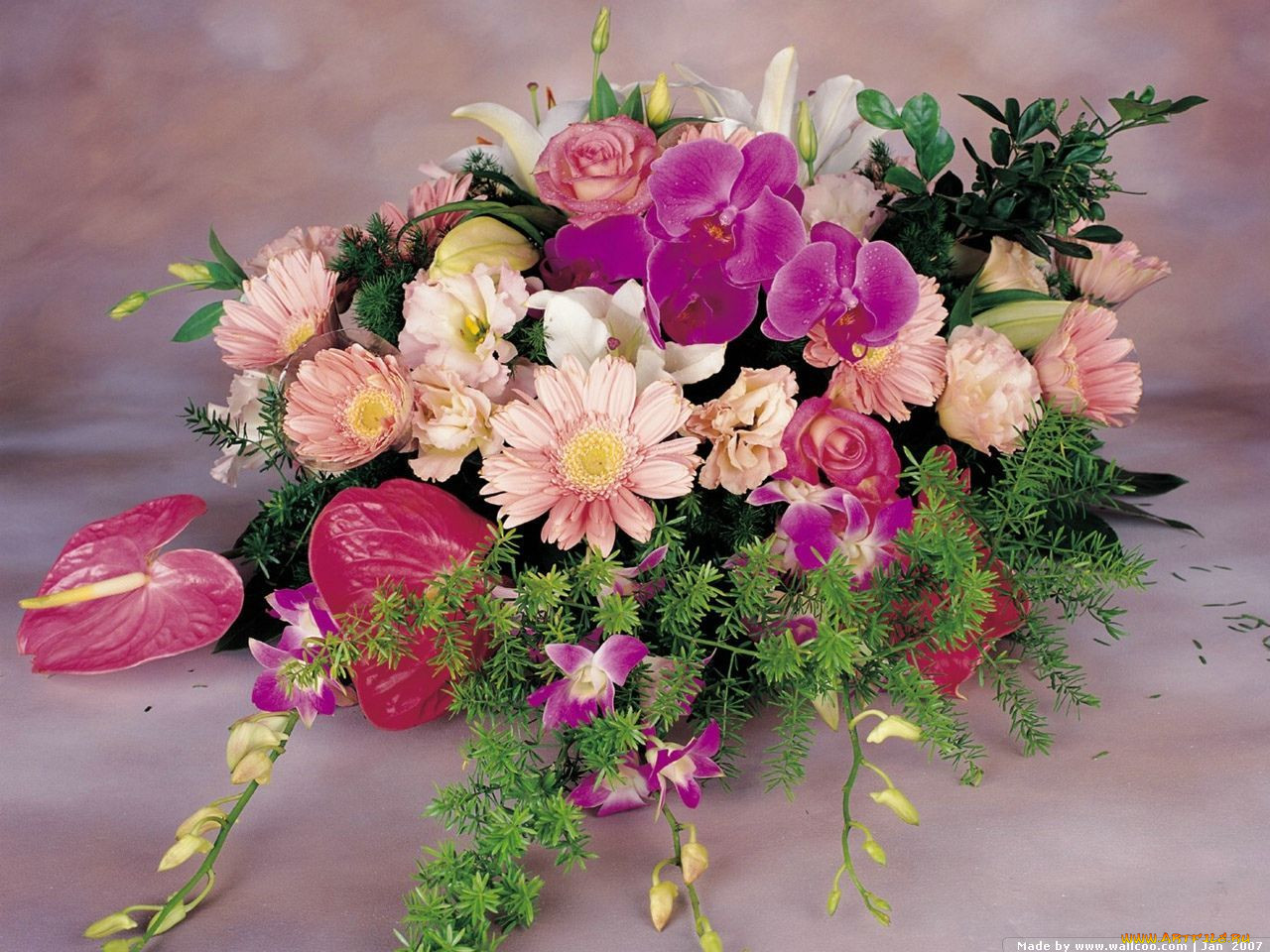 Цветы из салфеток - m 17